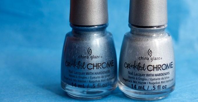China Glaze - Aluminate + Iron Out The Details