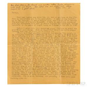 Fine Books & Manuscripts Auction Features Letters by ...