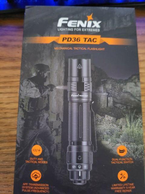 Fenyx PD36 Tactical Flashlight