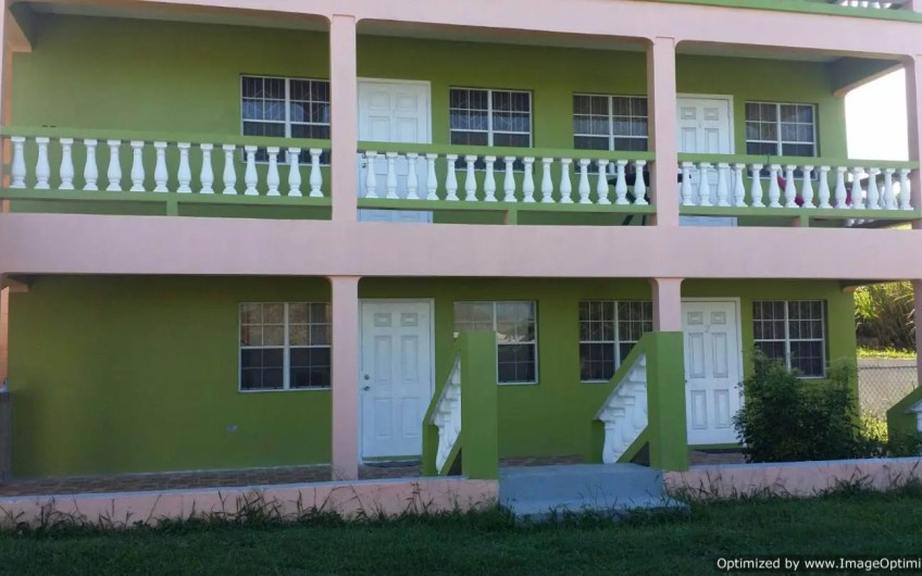 1 Bedroom Apartments For Rent in St Peter, St. Kitts – Panoramic View – Ross Approved