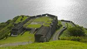 St Kitts Sightseeing Tour to Brimstone Hill Fortress