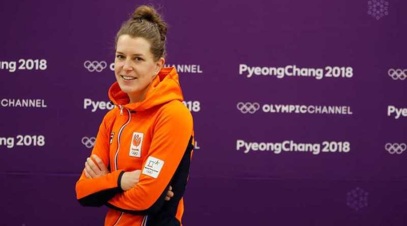 Skoatterwâld feliciteert haar gouden Olympische 1500 meter Koningin
