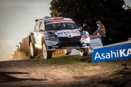 2. leg Rally Italia Sardegna 2020, (ITA), WRC 2, Kajetan Kajetanowicz/Maciej Szczepaniak (POL/POL)