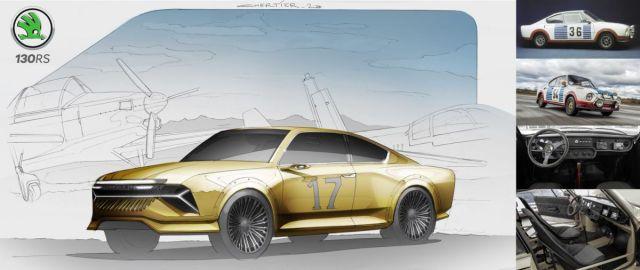 SKODA_130_RS-moderni_designova_skica-1