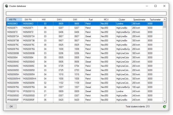 VDOeditor2 database module