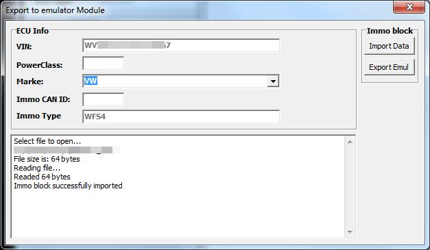 Модуль Export To Emulator