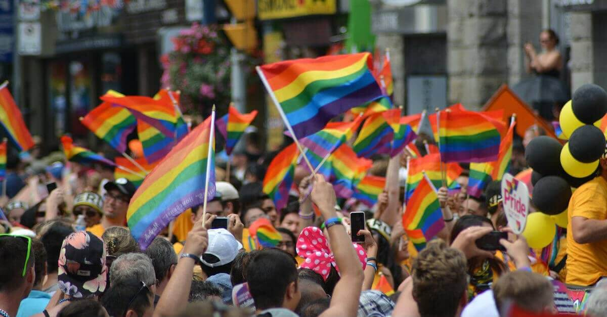 Gay Pride myndir á vef Reykjavíkurborgar
