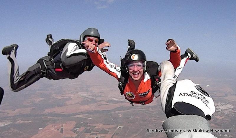 Kurs spadochronowy AFF najlepiej w Hiszpanii