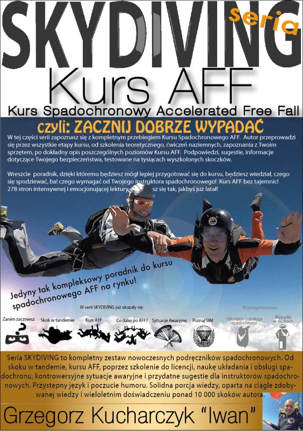 kurs spadochronowy AFF ebook poradnik spadochronowy