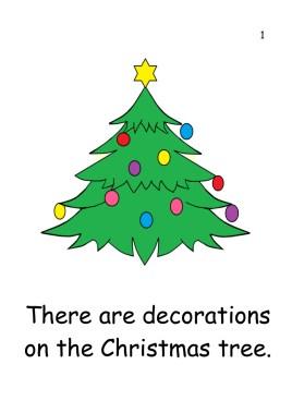 A4 Christmas tree