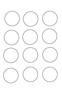 thumbnail of spilleplade cirkler