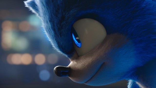 """Image from the movie """"Sonic the Hedgehog"""""""