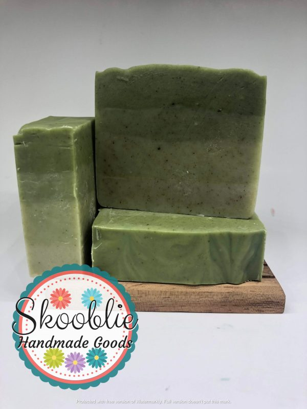 Peppermint Tea Tree with Nettle soap