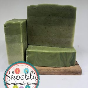 Peppermint Tea Tree with Nettle soap