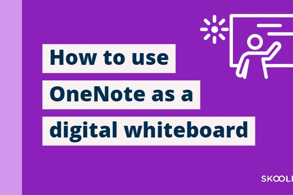 How to use Microsoft OneNote as a digital whiteboard