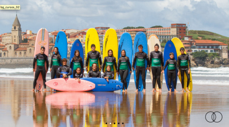 surf en gijon asturias