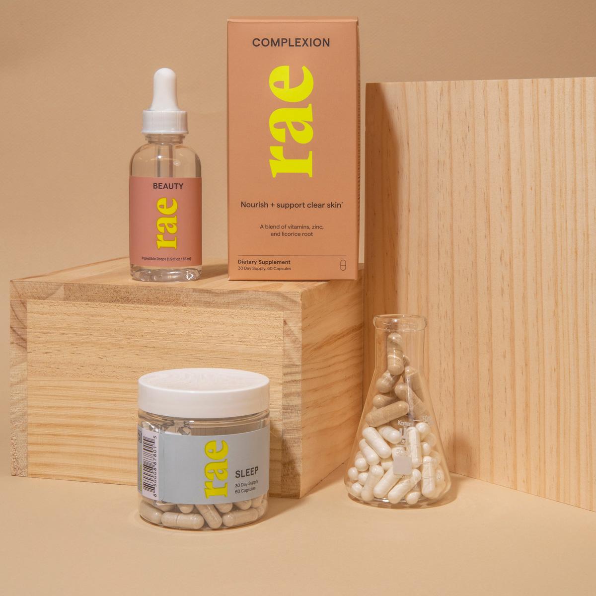 Skoop Social Content - Rae Wellness Vegan Beauty Supplements