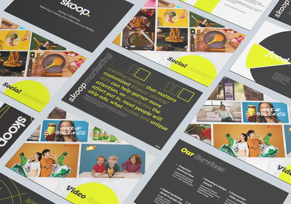 skoop ppt design