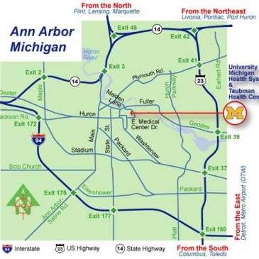 Skoop Up You Can Ride With Us Ann Arbor Map - Us-23-map