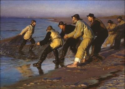 Krøyer var nok den mest berømte af Skagenmalerne ... Tuxen måske men han kommer først ret sent til Skagen