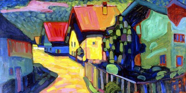 Dette foredrag om farver behandler Kandinskys originale brug af farver.