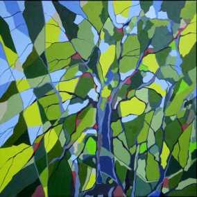 Maleri i skovens farver