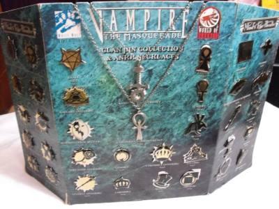 Vampire Clan Pins
