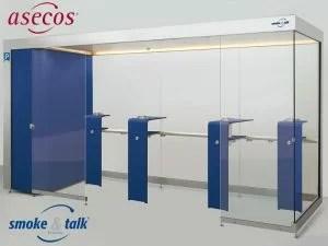 "Asecos - Rauchkabine ""smoke_and_talk"""