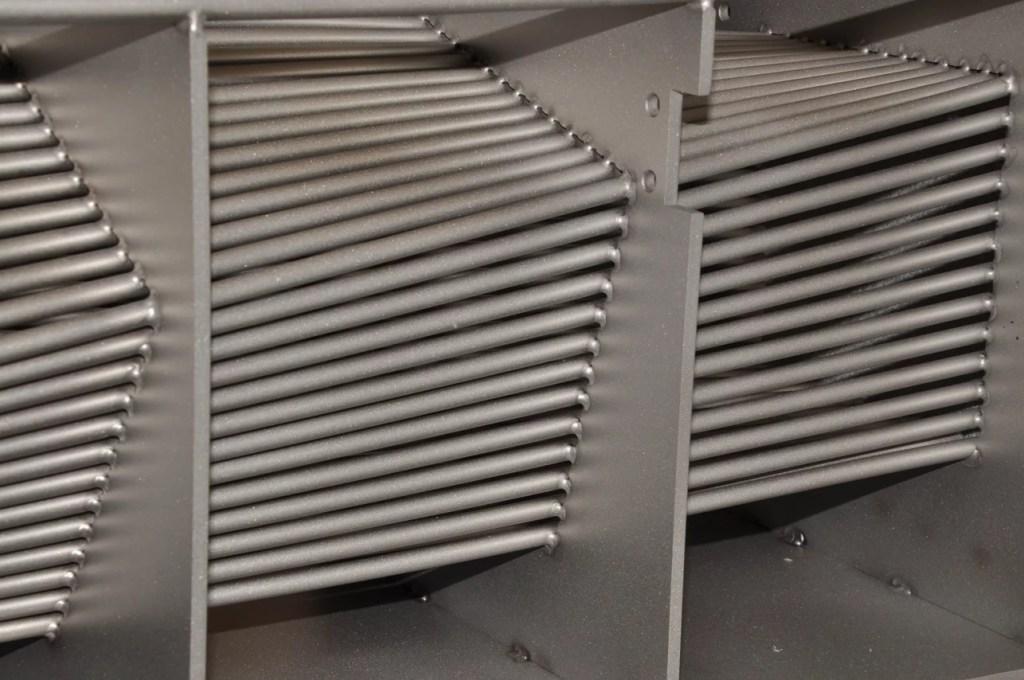 Teileführung geschweisste Industriekunst