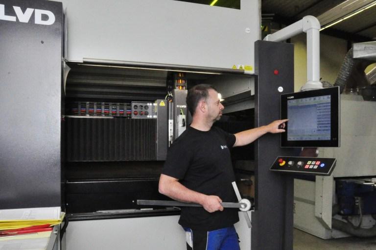 Laserschneiden mit Faserlaser