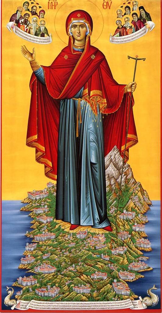 Агни Парфене Деспина   -    Пресвятая Дева Владычица