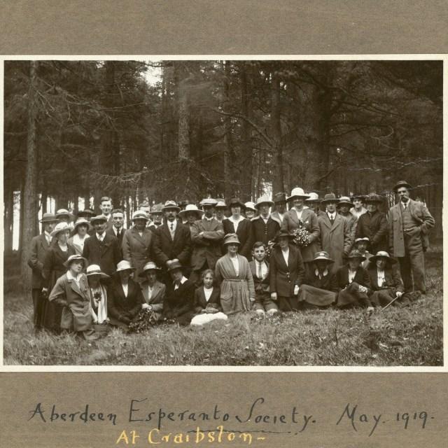 Aberdeen Esperanto Society 1919
