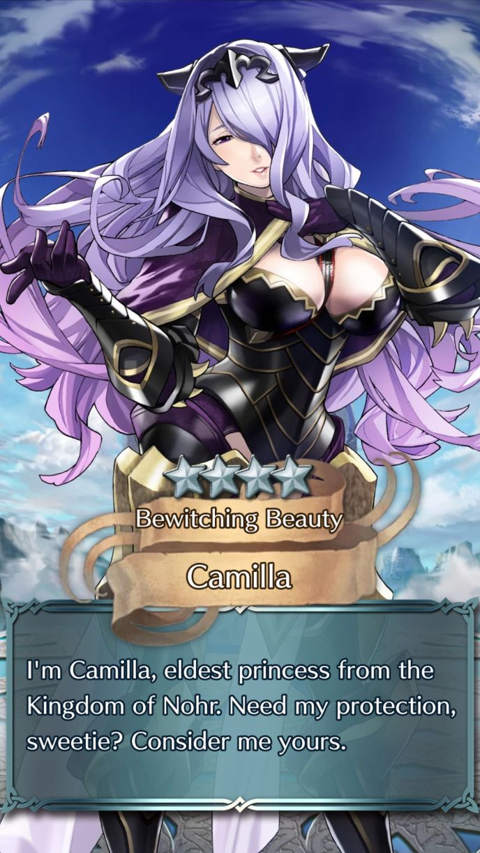 camilla bewitching beauty 4 star summon