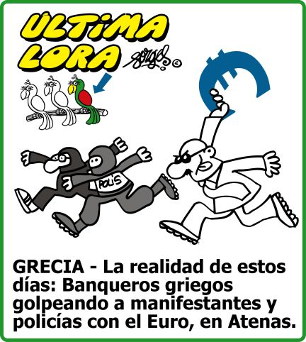 GRECIA: La realidad de estos días...