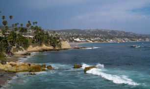 Laguna Beach, my first day out shooting landscape.