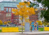 Beautiful colors in Boston