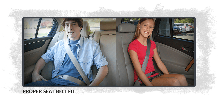 Proper Seat Belt Fit