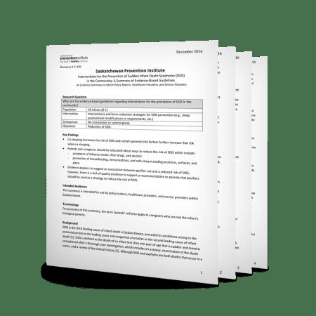 2-438: Safe Sleep Evidence Summary