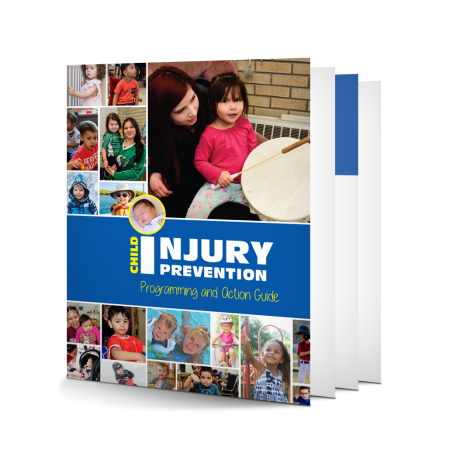 4-008: The Child Injury Prevention Programming and Action Guide provides information about the importance of injury prevention, why children are more at risk of injury, and how to develop and implement an injury prevention strategy. This resource was developed for community-based programs to use in their work with families to prevent child injury, but it will be of interest to anyone who works with caregivers and children. Adapted with permission from Parachute Canada's Introduction to Child Injury Prevention (ICIP) online resource.