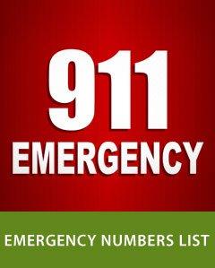Emergency Numbers List