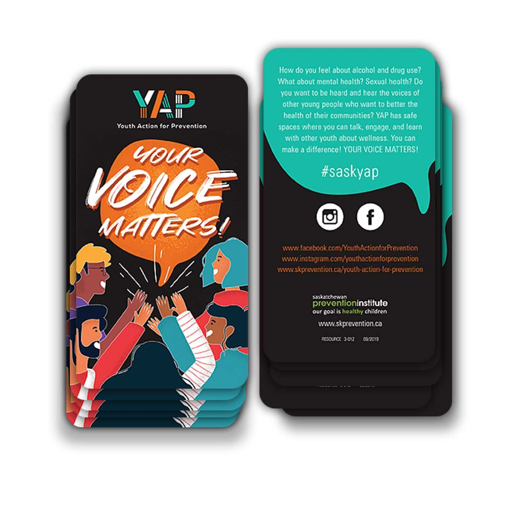 3-012: Your Voice Matters! Information Card