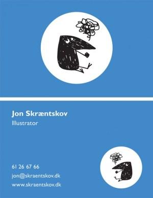 visitkort skræntskov tegner animation