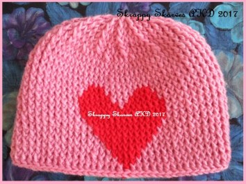 33c-kays-pink-hot-red-heart-beanie