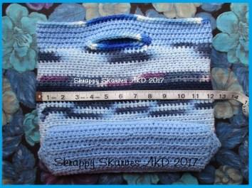 14e Blue Market Bag