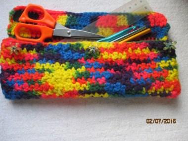 3a3 Crochet hook pouch