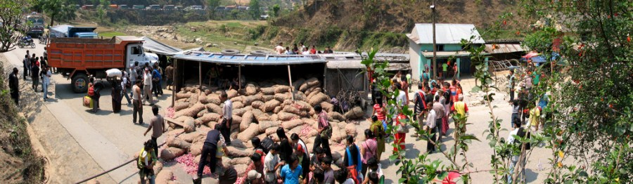Hendelig uhell. Foto: Laxman Thapa via Flickr, http://www.flickr.com/photos/laxmanthapa/