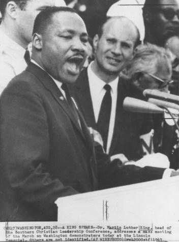 La deg inspirere av Martin Luther King, Jr. når du skal skrive en god tale.
