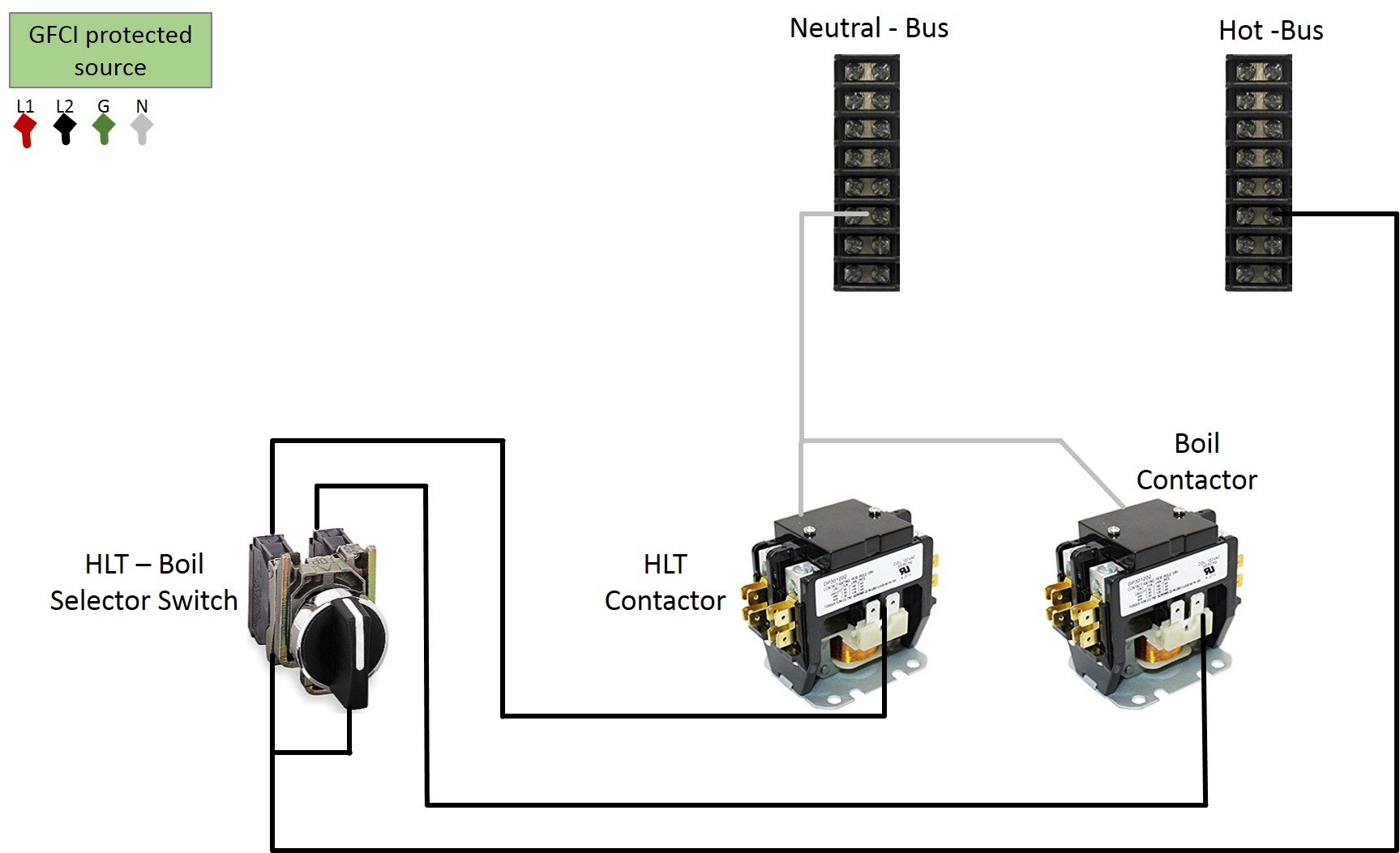 Two Pole Contactor Wiring Diagram