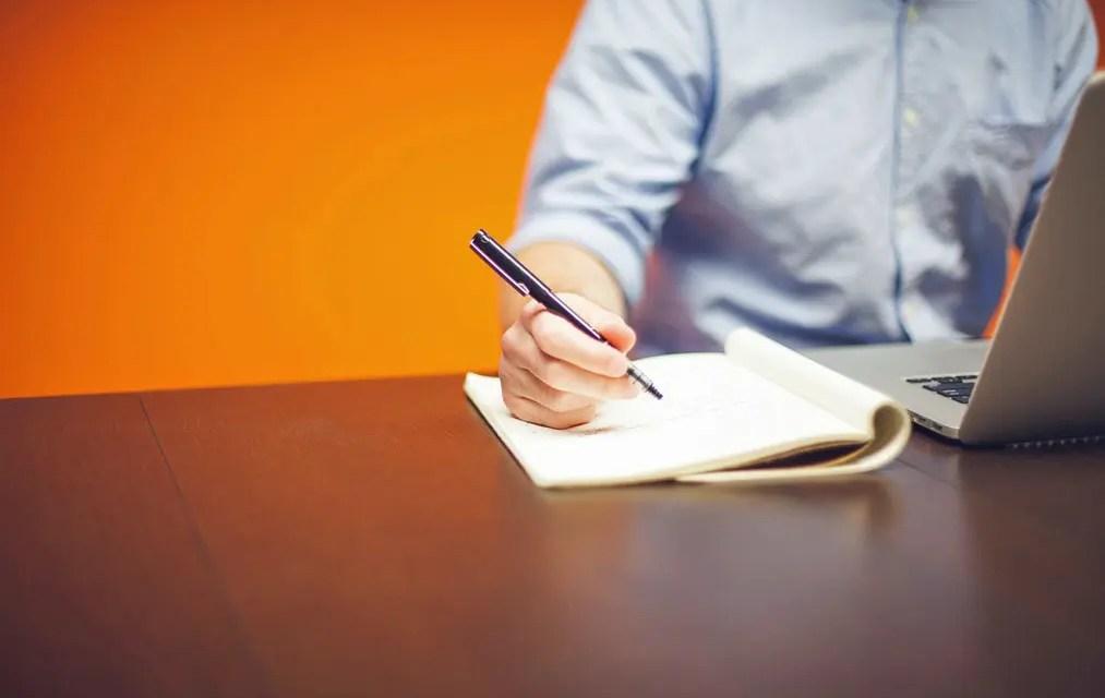 Första meningen i din text – skrivövning