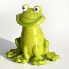 Skleněné figurky – žabičky
